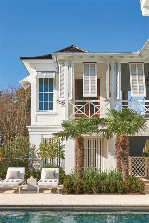 Breezy Blue Florida Cottage by A Breezy South Carolina House Exteriors