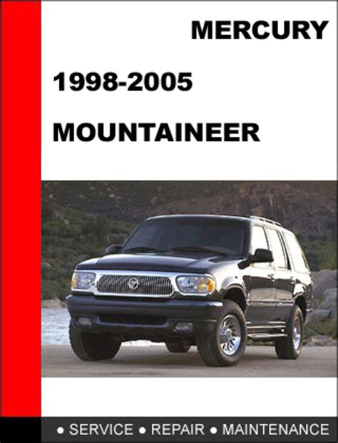 motor auto repair manual 2006 mercury mountaineer interior lighting mercury mountaineer 1997 to 2001 factory workshop service repair ma