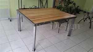 Table Metal Exterieur : table d 39 int rieur et d 39 ext rieur en m tal ~ Teatrodelosmanantiales.com Idées de Décoration