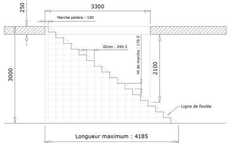 formule de l escalier www le metal net calculer un escalier droit