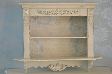 shabby chic wall units shabby chic wall shelves vintage style shelf wall unit ebay