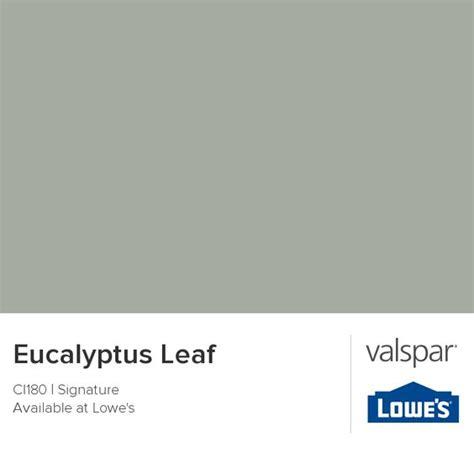 eucalyptus leaf from valspar paint colors