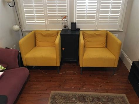 EkerÖ Ikea Armchairs For Sale And Side Table