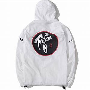 allonly men39s fashion dragon totem hoodie zip up chinese With chinese letter hoodie