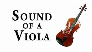 Sound Of The Viola