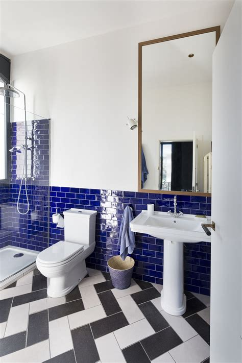 colorful bathroom tiles  coming