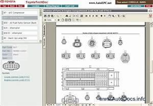 Toyota Corolla  Toyota Auris Rus Parts Catalog Order