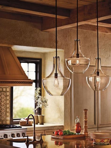 ideas  kitchen island lighting  pinterest
