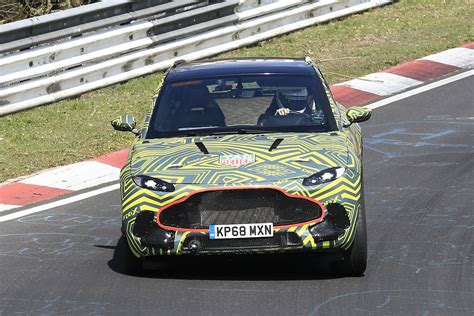 2020 Aston Martin Dbx by New 2020 Aston Martin Dbx Suv Spied Testing Pictures