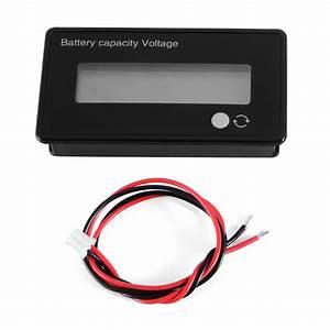 Batterie Kapazität Berechnen : 12v batterie kapazit t tester blei s ure acid lithium voltmeter lcd 48v te620 ebay ~ Themetempest.com Abrechnung