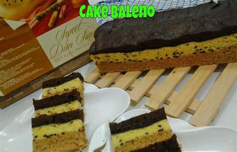 Lanjut ke resep bolu coklat lembab, seperti judulnya bolu ini pastinya di olah dengan cara di kukus. Resep Cake Baleno Brownies Kukus Empuk Lembut