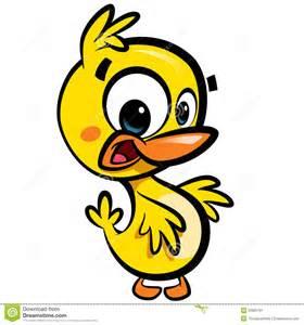 Baby Duck Cartoon Character
