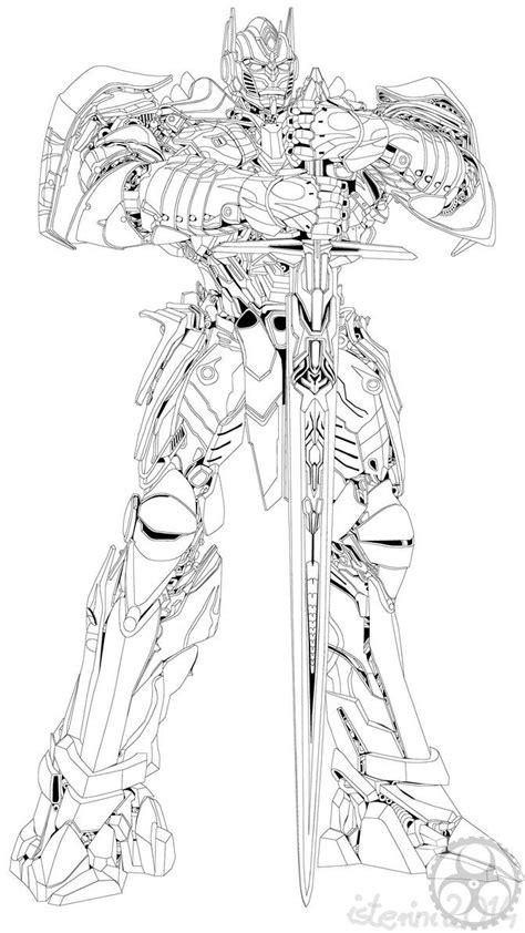 optimus prime coloring page unique transformers  optimus