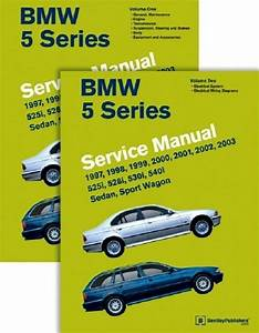 Bmw 5 Series E39 Bentley  B503 Service Manual 2