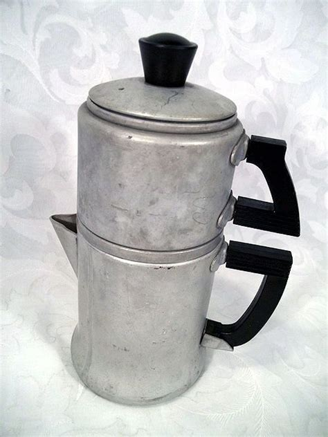 This is your lattes, your cappuccinos. $29.99 VINTAGE WEAR-EVER 2 CUP ALUMINUM STOVE-TOP DRIP COFFEE MAKER MODEL 3042 | Coffee, Drip ...