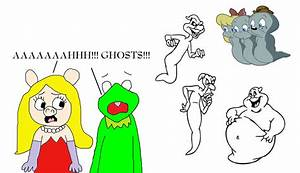 Miss Piggy and Kermit are Scared by these Ghosts by ...