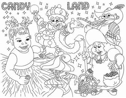 Clipart Candyland Candy Land Party Birthday Shoppe