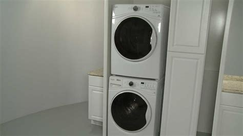 lg washer dryer washer dryer stacking kit installation w10869845
