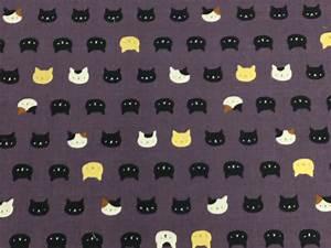 Neko Kitty Cat Kitten Japanese Asian Retro Cotton Quilt ...