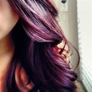 purple ombre hair | Tumblr - The Beauty Thesis