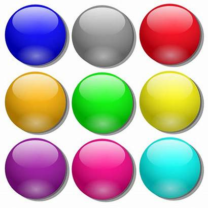 Dots Marbles Clip Simple Marble Icons Svg