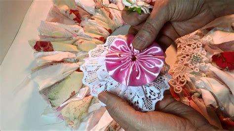 shabby fabric flower tutorial 1000 images about crafts on pinterest tassels fabric flowers and shabby