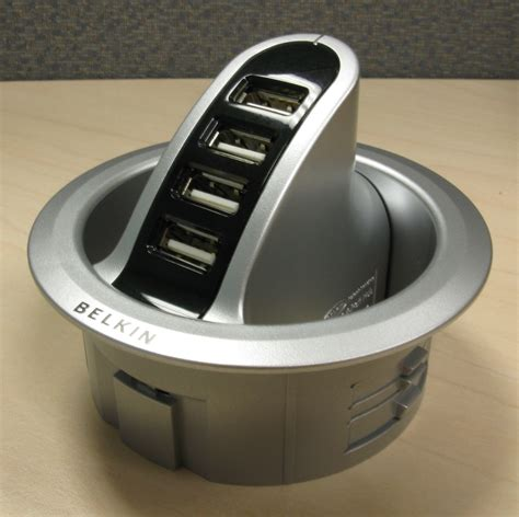 Belkin In Desk Usb Hub Review Notebookreview Com