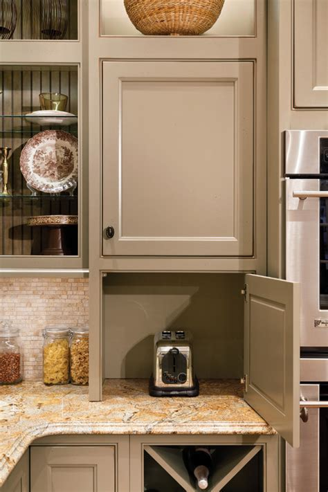kitchen appliance cupboard design creative ways to hide your small kitchen appliances 5009