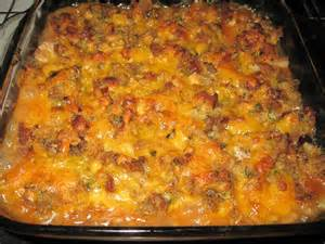 Ground Turkey and Vegetable Casserole Recipes