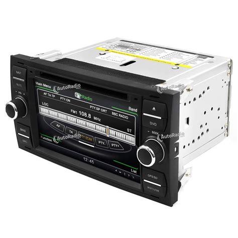 ford focus autoradio poste autoradio dvd gps ford focus black or silver aux prix les plus bas sur notre boutique en