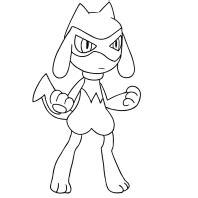disegni dei pokemon quarta generazione da colorare