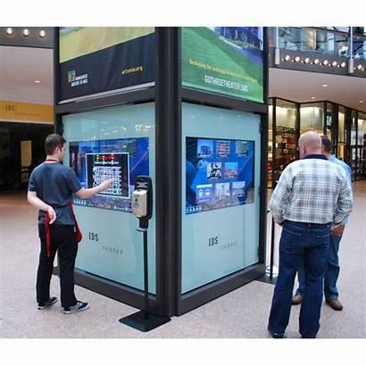 Touch Kiosk Screen Crea Pcap Interaktiver Orientamento
