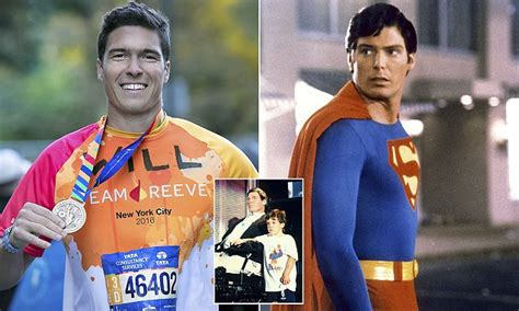 reeve  son  paralyzed superman actor