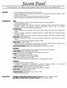 General Resume Templates Free General Resume Template Latest Resume Format