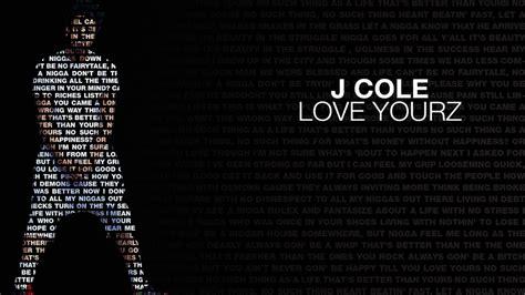 J Cole Love Yourz HD Desktop Wallpaper by SyaOfKanada on