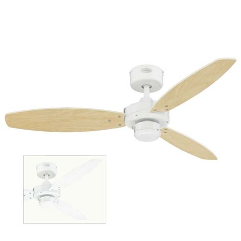 ceiling fan wobbles without blades jet ii ceiling fan with maple and white blades 78261 163 88 54