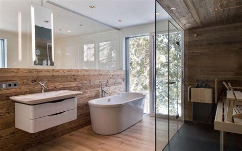 Kleines Badezimmer Mit Sauna by Badezimmer Alpenstil Mit Kleiner Sauna Zuhause