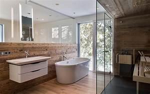 Sauna Für Badezimmer : badezimmer alpenstil mit kleiner sauna jetzt neu ~ Watch28wear.com Haus und Dekorationen