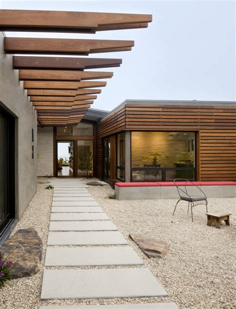 ten modern concrete hardscape applications  homes homesfeed