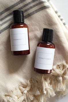 shampoo conditioner  lotion label template
