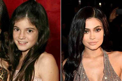 kylie jenner then and now - Viral Gala