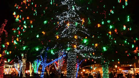 downtown prescott arizona christmas lights youtube