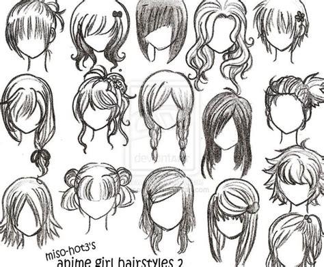 1000+ Ideas About Manga Hairstyles On Pinterest