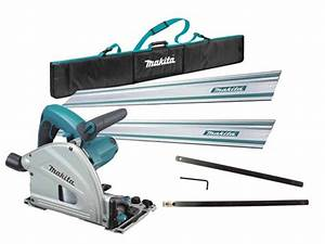 Makita Ffx9kit 240v 165mm Plunge Cut Saw And Guide Rail
