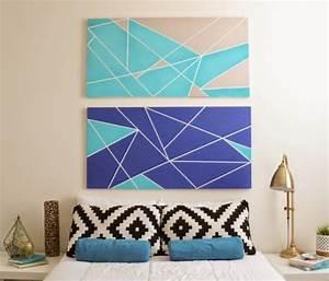 1001 projets et idees geniales de tete de lit a faire With peinture a faire soi meme