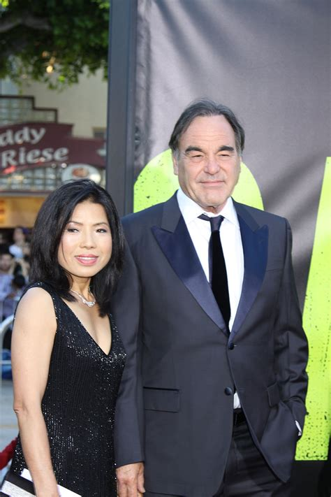 Oliver Stone and wife Sun Jung Jung at the World Premiere of SAVAGES   ©2012 SUe Schneider