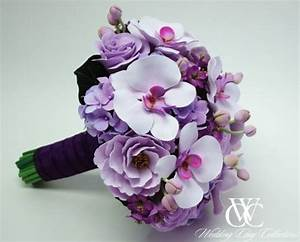 purple orchid bouquets | Wedding!! | Pinterest