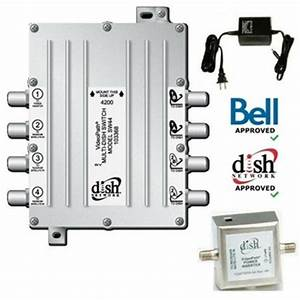 Dish Network Sw44 Switch Bell Expressvu Legacy Videopath