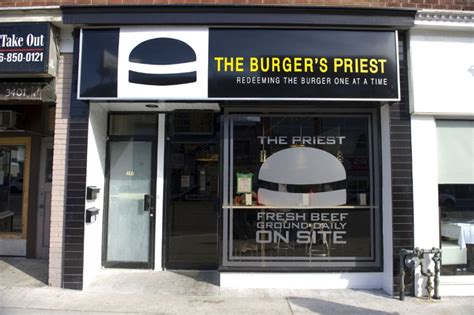 cuisine priest burger s priest named third best food in toronto by zagat