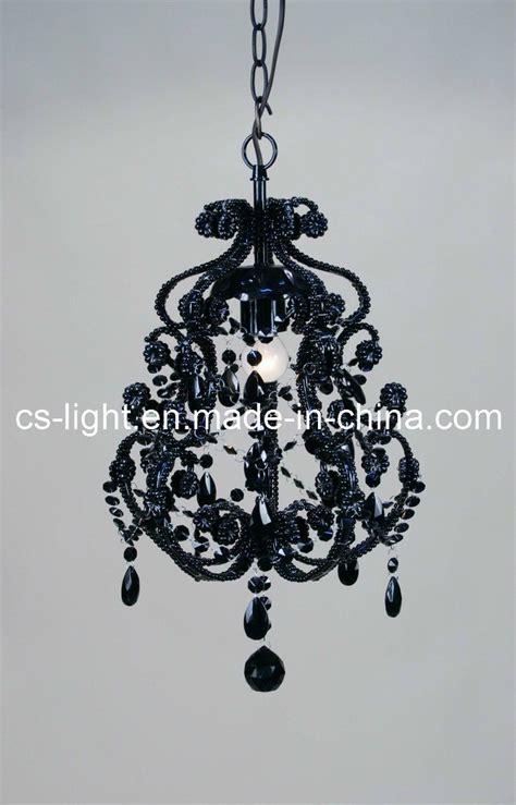 lustre pour chambre à coucher lustre noir en métal de peinture pour la chambre à coucher
